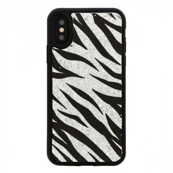 Benjamins   Cover Animalier Zebra Per iPhone XS X Nero   BEN_BJXS-ANIZEBRA