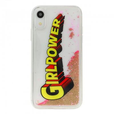 Benjamins | Liquid Cover GirlPower For iPhone XR Pink | BEN_BJXR-LIQPOWER
