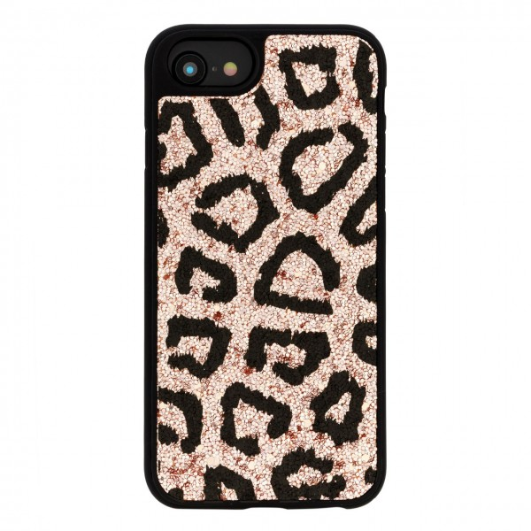 Benjamins | Cover Animalier Leo Gold Per iPhone 8 7 6 6S Oro | BEN_BJ8-ANILEORG