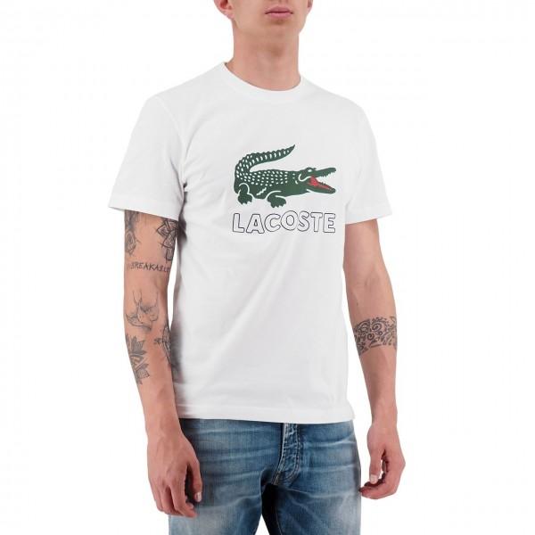 Lacoste   T-Shirt Bianco   LAC_TH6386_001