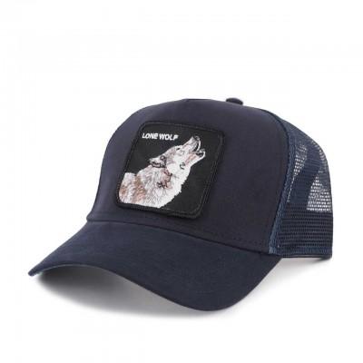 GOORIN BROS. | WOLF BASEBALL HAT BLU | GOB_101-6099-NVY