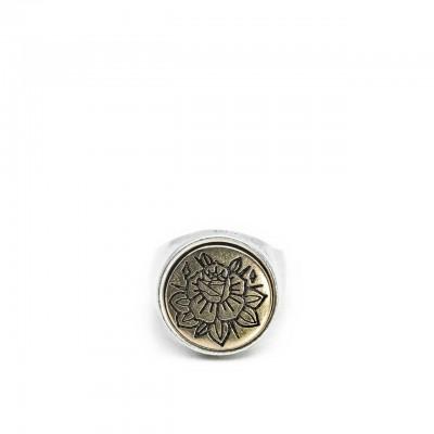 Double U Frenk | Circle Rose Silver & Gold Argento | DUF_CIRCLE ROSE S&G