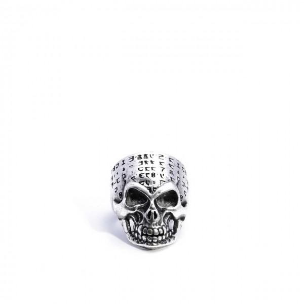 Double U Frenk | Matrix Skull Argento | DUF_MATRIX SKULL