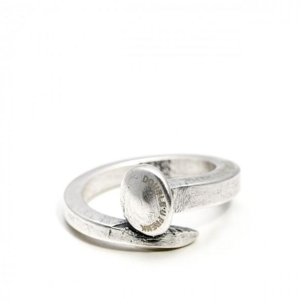 Double U Frenk | Nail Ring Argento | DUF_NAIL