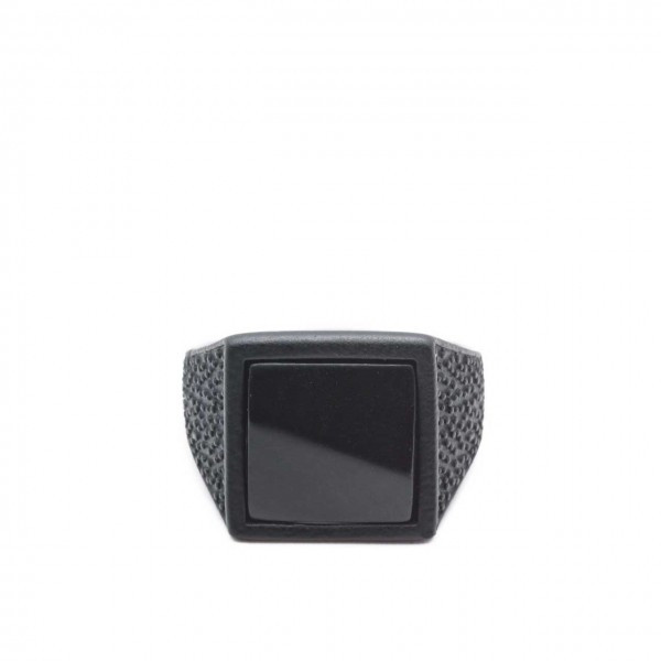 Double U Frenk | Square Roof Total Black Ring Nero | DUF_SQUARE ROOF TB