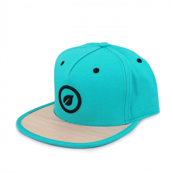 Recreate | Bamboo Limited 6 Panel Snapback Hat Blu | RCA_BAMBOO_BL-BR