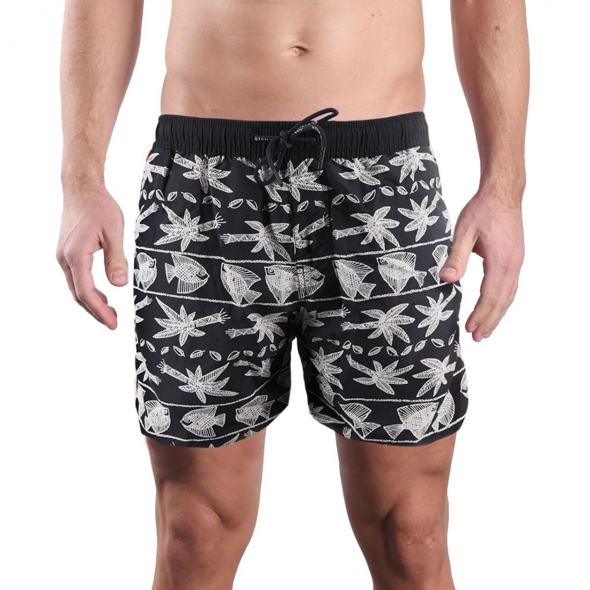 b17d3b6f1ff Black Tropical Swimsuit