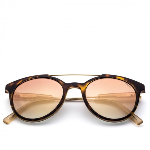 Saraghina | Gerry Iron Turtle Sonnenbrille Flash Gold Linse | SAR_GERRY IRON-147FF