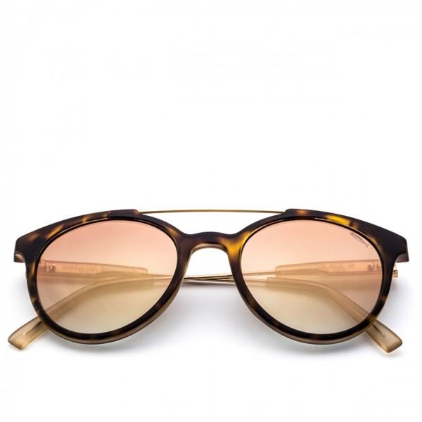 Saraghina | Gerry Iron Turtle Sunglasses Flash Gold Lens | SAR_GERRY IRON-147FF