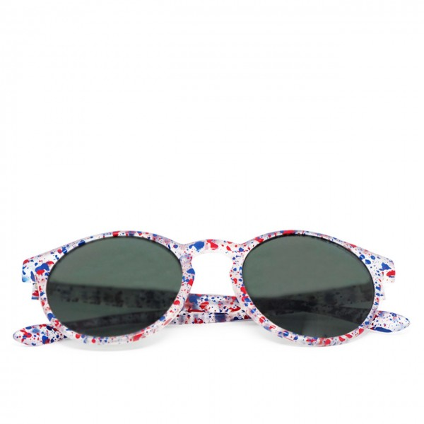 ddbddc6dd Saraghina   Sunglasses Gilda Pop Frame Transparent Lens Brown Lens