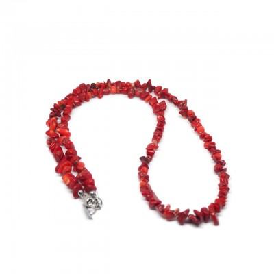 Double U Frenk | Collana Coral Rosso | DUF_COL_CORAL CR