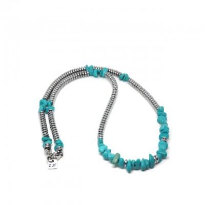 Double U Frenk | Silver Spirit Necklace | DUF_COL_SPIRIT ST