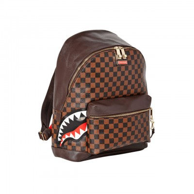 Sprayground | Side Sharks In Paris Backpack Marrone | SPR_910B1696NSZ