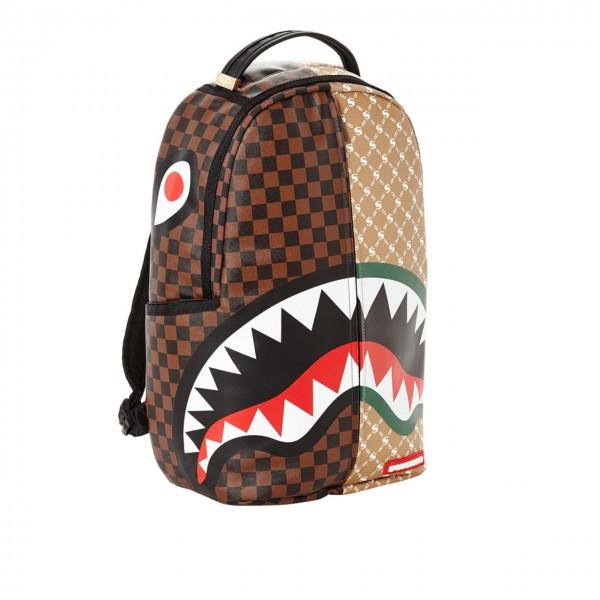 Sprayground | Paris Vs Florence Shark Backpack Marrone | SPR_910B2292NSZ