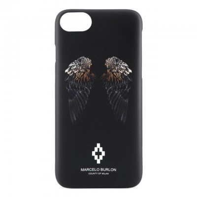 f28d39ca9 Marcelo Burlon   Heart Wings Cover iPhone 8 7 6 6s Black    MBU_M8-WINGSHEART ...