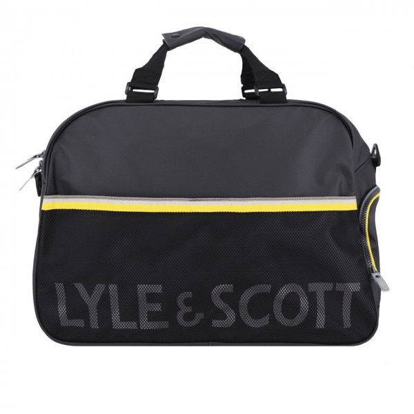 Lyle & Scott | Weekender Bag Nero | LYS_MLSBA1107A 572