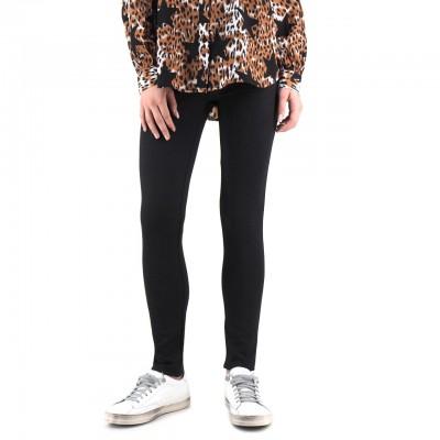 Anonyme | Glenda Pantalone Leopardato Nero | ANY_P139FP148_BLACK