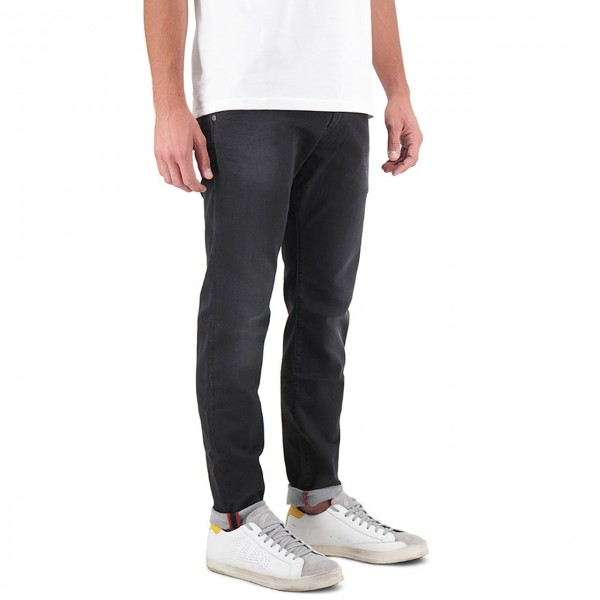 Dirty Paint   Jeans Rolling Nero   DRP_19FWDYPPAN20 WH