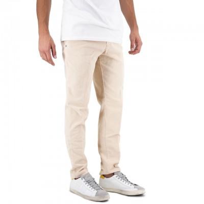 White Sand | Pantalone Lungo Beige | WS_19WSU66 04_104