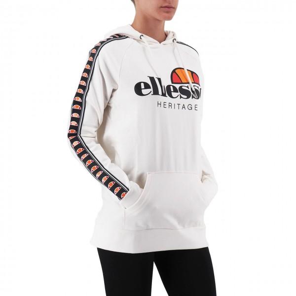 Ellesse   Hoodie Logo Bianco   ELLESSE_EHW215W19_002