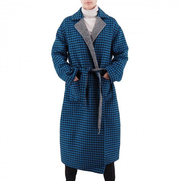 Scotch & Soda | Reversible Wool Jacket Blu | S&S_152680 0601