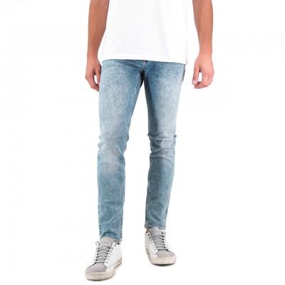 Scotch & Soda | Skim Marine Mood Skinny Jeans Blu | S&S_151057 3101
