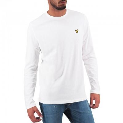 Lyle & Scott | LS Crew Neck T-shirt Bianco | LYS_MLSTS512V 626