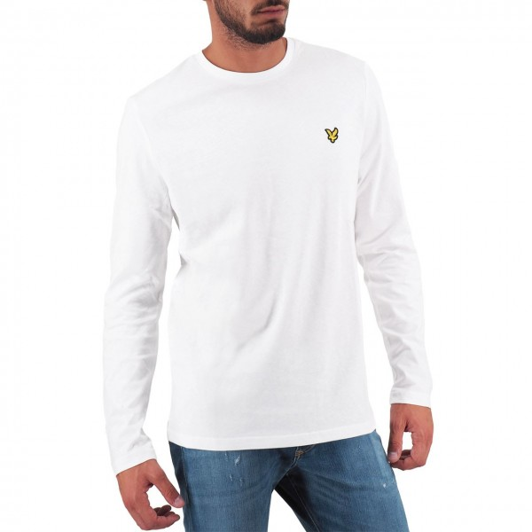 Lyle & Scott | LS Crew Neck T-shirt Bianco | LYS_MLSTS512V 626