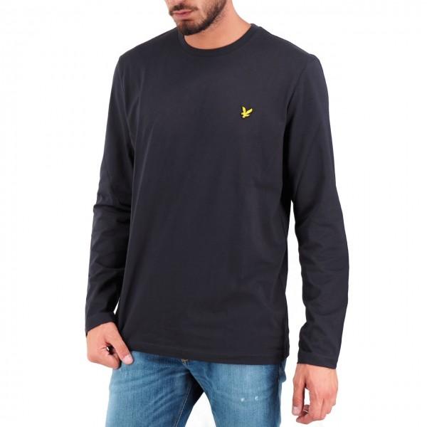 Lyle & Scott | LS Crew Neck T-shirt Nero | LYS_MLSTS512V 572