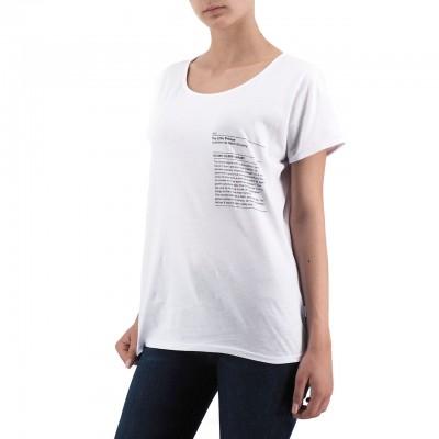 Ko Samui   The Little Prince Library T-Shirt Bianco   KSU_TE 601 THE LITTLE PRINCE