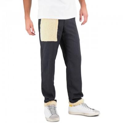 White Sand | Pantalone Lungo Nero | WS_19WSU66 336_34