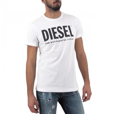 Diesel | T-Diego-Logo Maglietta, Bianco | DSL_00SXED 0AAXJ 100