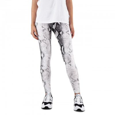 Happiness | Leggings Snake, Bianco | HAP_I19_LEGPIT