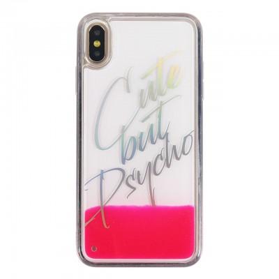 Benjamins | Cover Cute But Psycho iPhone XS Max Rosa | BEN_BJXSM-LIQCUTE