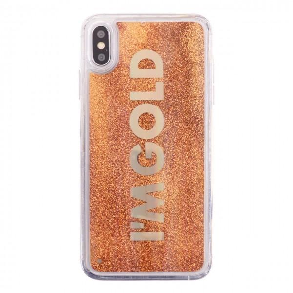 Benjamins | Cover I'm Gold iPhone XS, X Oro | BEN_BJXS-LIQGOLD