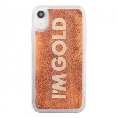 Benjamins | Cover I'm Gold iPhone XR Oro | BEN_BJXR-LIQGOLD