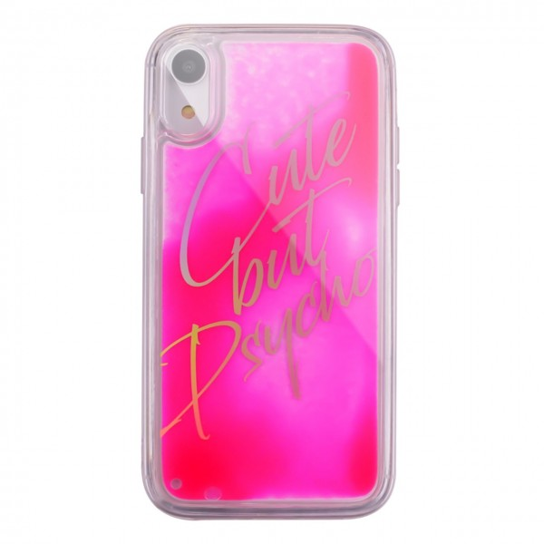 Benjamins | Cover Cute But Psycho iPhone XR Rosa | BEN_BJXR-LIQCUTE