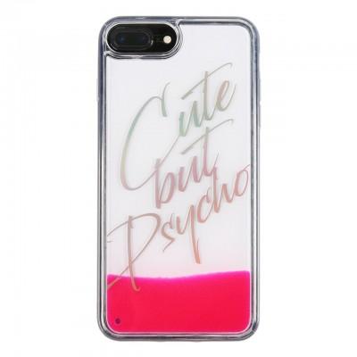 Benjamins | Cover Cute But Psycho iPhone 8, 7, 6s, 6 PLUS Rosa | BEN_BJ8P-LIQCUTE