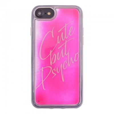 Benjamins | Cover Cute But Psycho iPhone 8, 7, 6s, 6 Rosa | BEN_BJ8-LIQCUTE