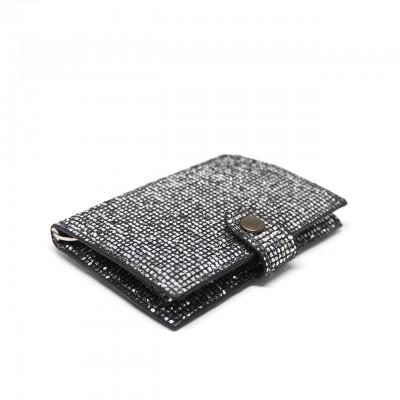 Kjore Project | Glitter Black iClutch + Coins Nero | KPJ_ICLUTCHCOINS GLITTER BLACK