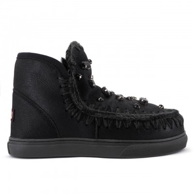 Mou | Eskimo Sneaker Strass Nero | MOU_MU.FW111001B/CBKG