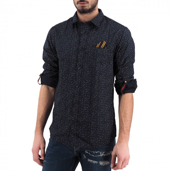 Scotch & Soda | Camicia Con Taschino, Nero | S&S_152183 0222