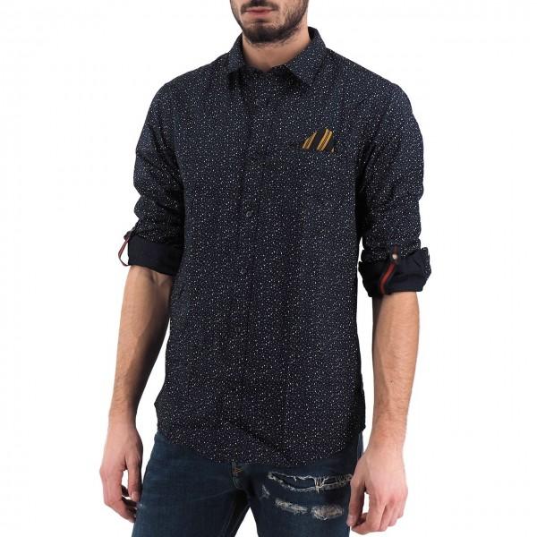 Scotch & Soda | Shirt With Pocket, Black | S&S_152183 0222