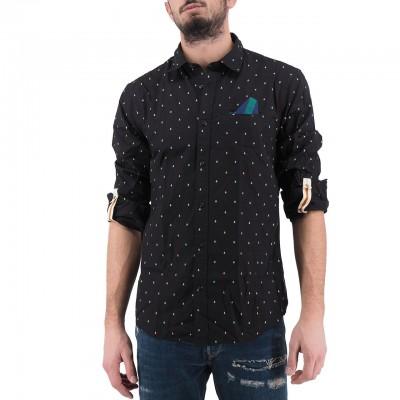 Scotch & Soda | Shirt With Pocket, Blue | S&S_152183 0221