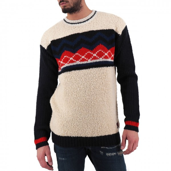 Scotch & Soda | Plush Sweater, Beige | S&S_152383 0217