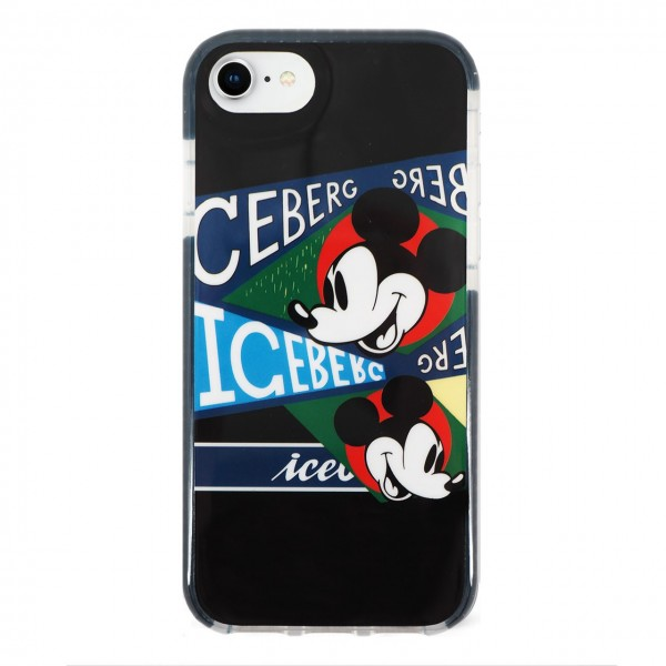 Iceberg | Cover Mickey Mouse Retro iPhone 8, 7, 6s, 6 Nero | BEN_ICE8-MRETRO
