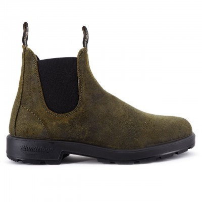 Blundstone | 1615 El Side Boot Suede Verde | BST_BCCAL0418 1615 888