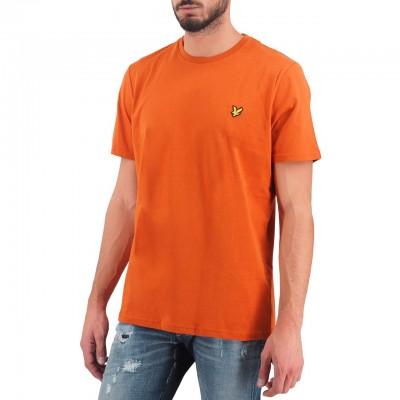 Lyle & Scott | Crew Neck T-Shirt Marrone | LYS_MLSTS400V Z598