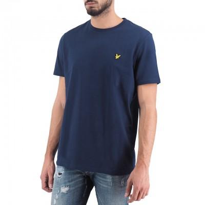 Lyle & Scott | Crew Neck T-Shirt Blu | LYS_MLSTS400V Z99