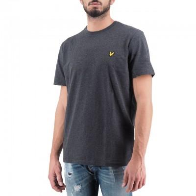 Lyle & Scott | Crew Neck T-Shirt Grigio | LYS_MLSTS400V 398
